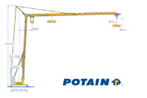 Potain HD16C afbeelding 600x500